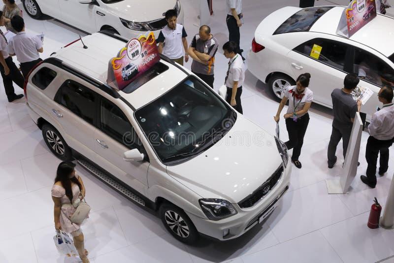 Koreaanse de motorcabine van Hyundai royalty-vrije stock afbeelding
