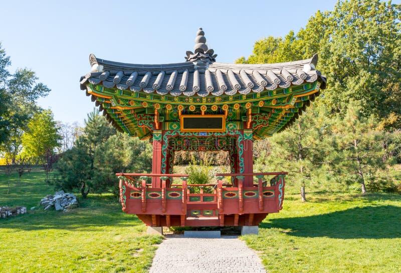 Koreaanse koninklijke pagode stock foto's