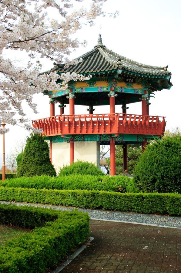 Koreaanse Pavillion royalty-vrije stock fotografie