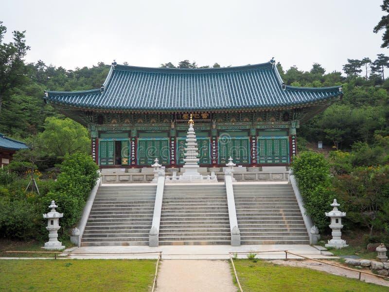 Koreaanse tempel royalty-vrije stock afbeelding