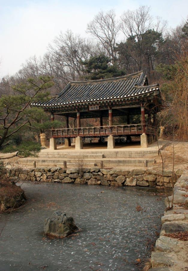 Koreaanse traditie royalty-vrije stock afbeelding