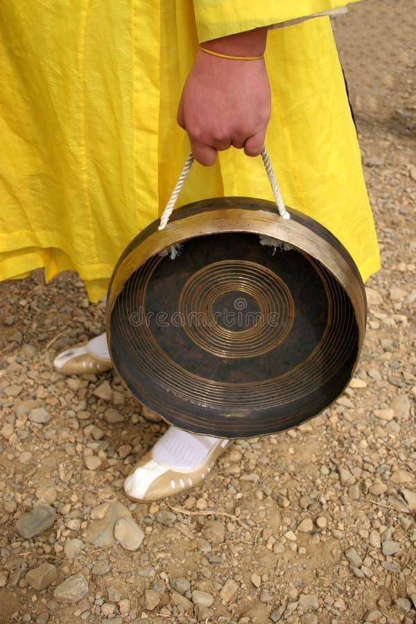 Koreaanse trommel stock foto's