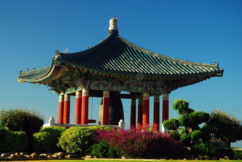 Koreaanse Vredesklok, San Pedro stock fotografie