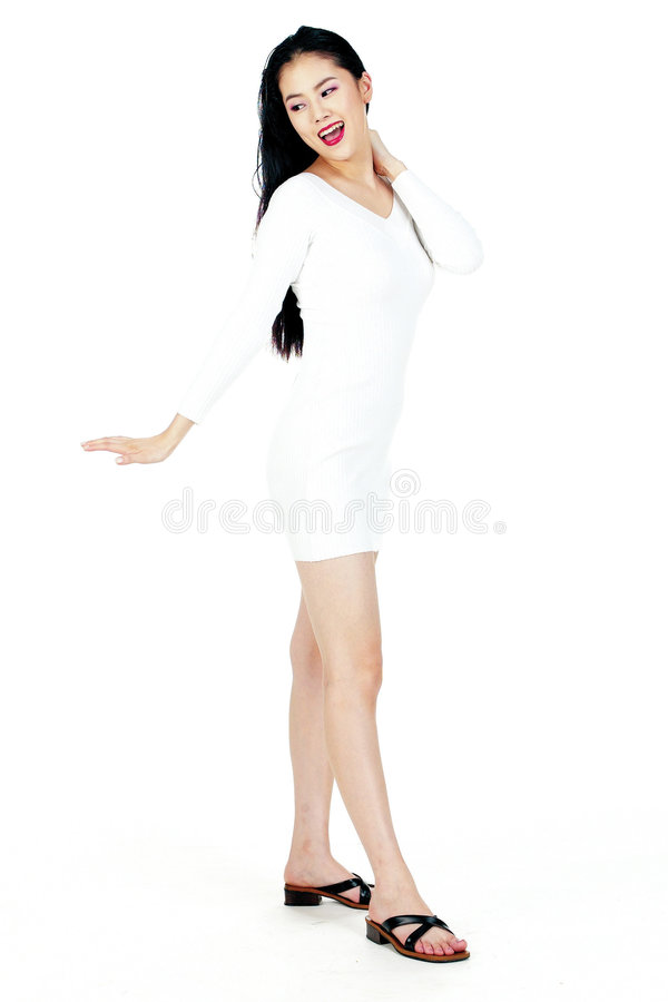 Koreaanse Vrouw stock afbeelding