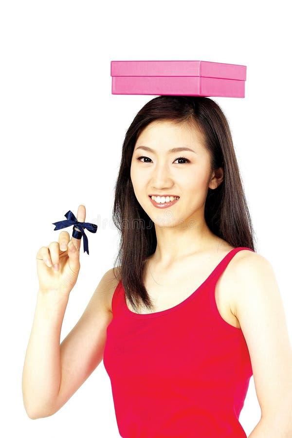 Koreaanse vrouw stock fotografie