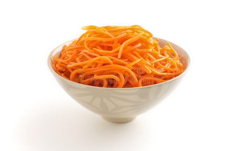 Koreaanse wortel. royalty-vrije stock afbeeldingen