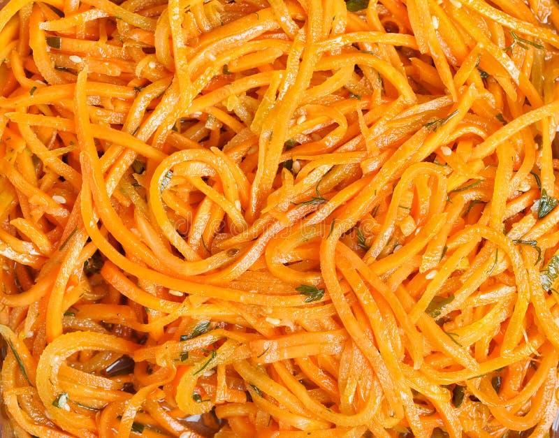 Koreaanse wortel stock foto