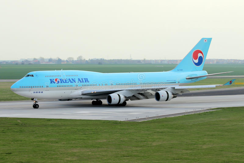 Korean Air zdjęcie royalty free