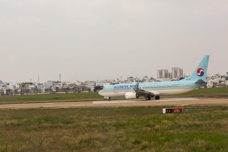 Korean Air arkivfoton