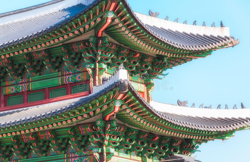 Download Korean Architecture Stock Image Of Oriental East