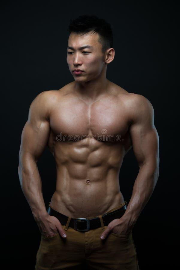 Korean athlete royalty free stock images
