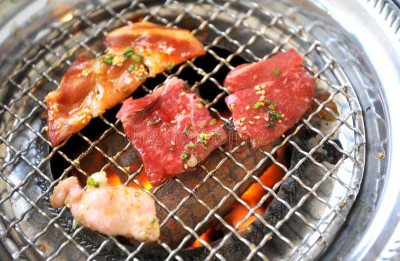 Korean BBQ grill royalty free stock photo