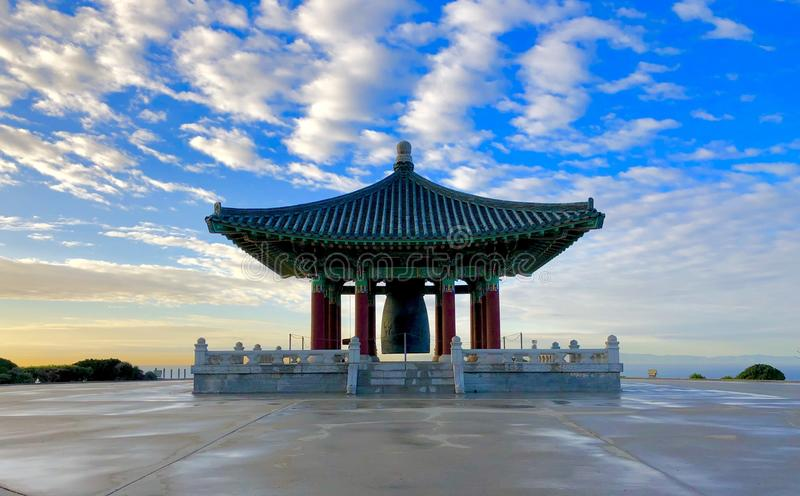 The Korean Bell of Friendship royalty free stock photo