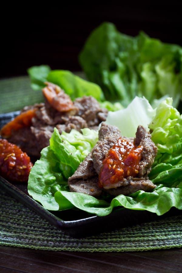 Korean Bulgogi royalty free stock photography