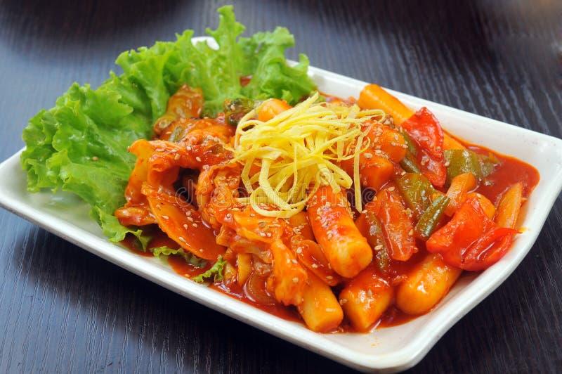Korean cuisine royalty free stock photography