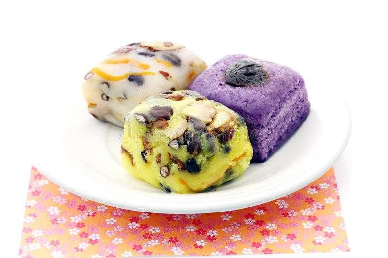 Korean Dessert. Delicious and appealing stock photography