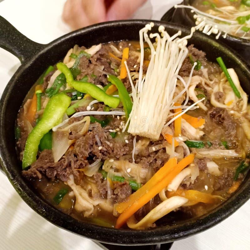 Korean dish stock images