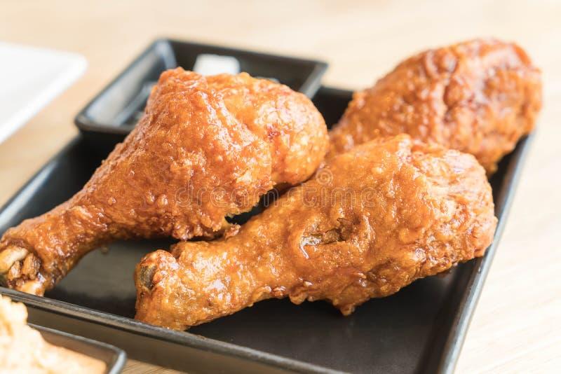 korean fried chicken stock photography