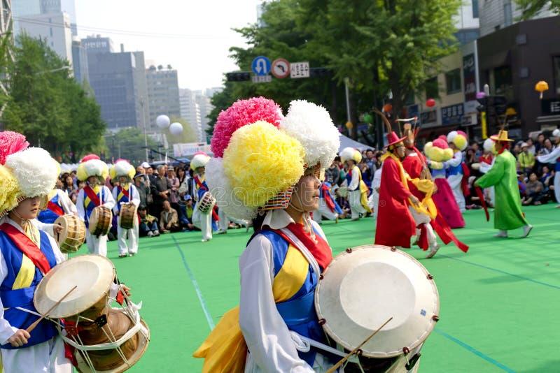 Korean Holiday Dance Editorial Photography Image 32473757