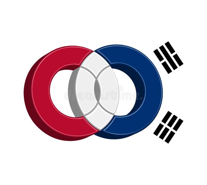 Download Korean Icon Concept stock vector. Image of blue, modern - 83706076