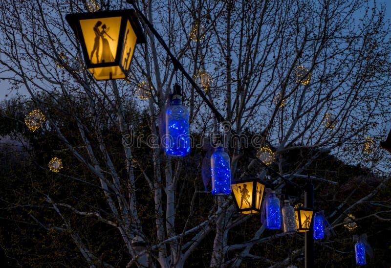 Korean Lantern royalty free stock photos