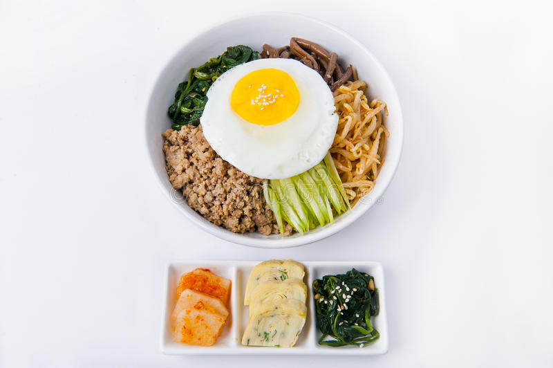 Korean meal royalty free stock images