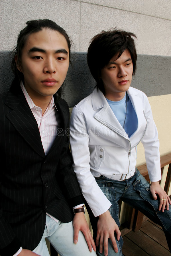 Free Korean Men Royalty Free Stock Photos - 824298