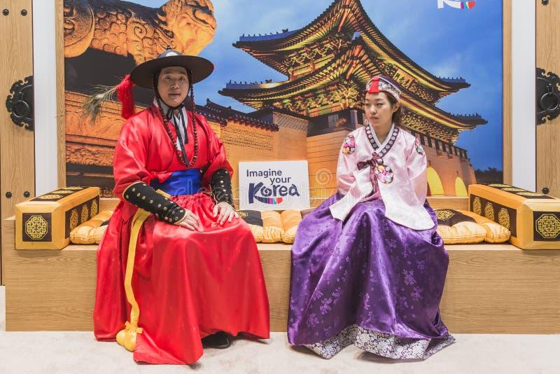 Korean People At Bit 2015, International Tourism Exchange ...