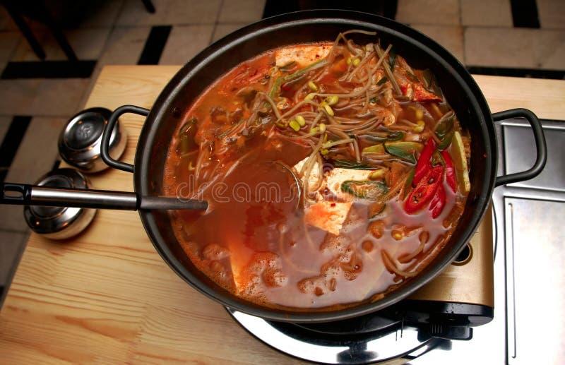 Korean soup royalty free stock photos