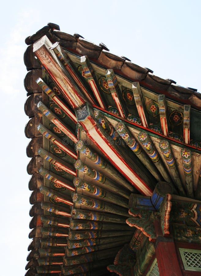 Korean temple stock photos