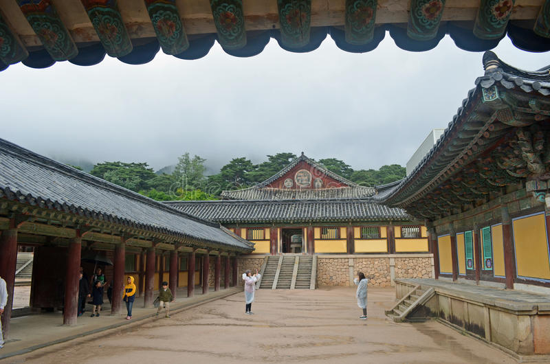 Download Korean Temple editorial stock photo. Image of temple - 37261383