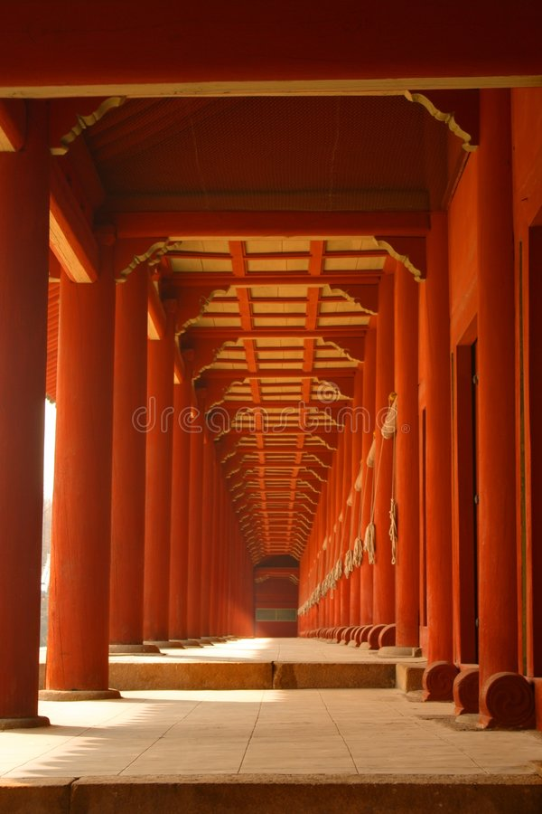Korean traditional architecture royalty free stock photo