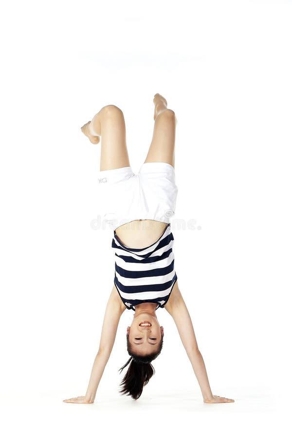 Download Korean woman stock image. Image of gymnastics, korean, model - 895027