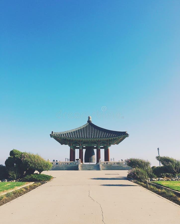 Koreanische Bell der Freundschaft lizenzfreie stockbilder