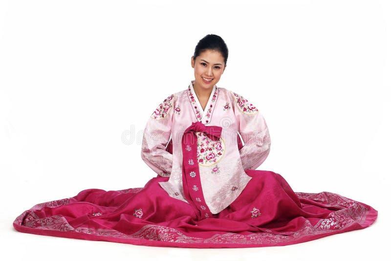 Download Koreanische Dame stockbild. Bild von kleidung, weiß, asiatisch - 869873