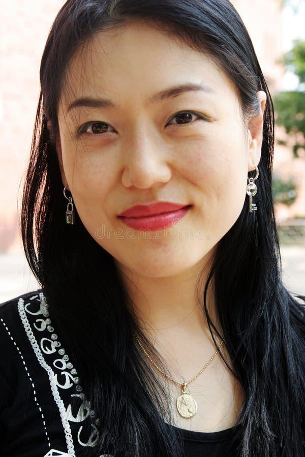 Koreanische Frau stockbilder