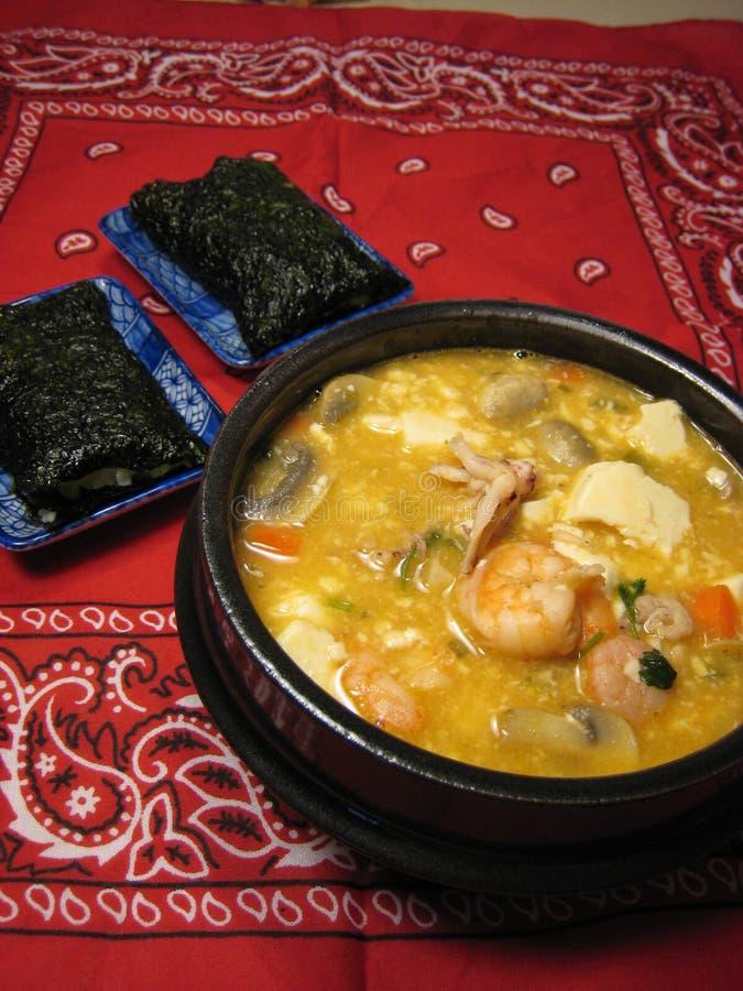Koreanische Küche stockfotos