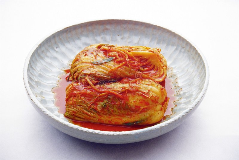 Koreanische Nahrung stockfoto
