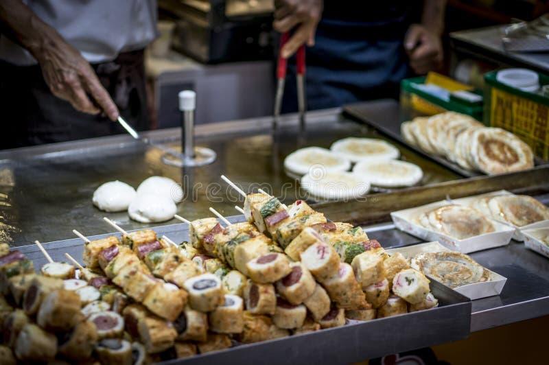Koreanische Straßen-Nahrung lizenzfreie stockfotos