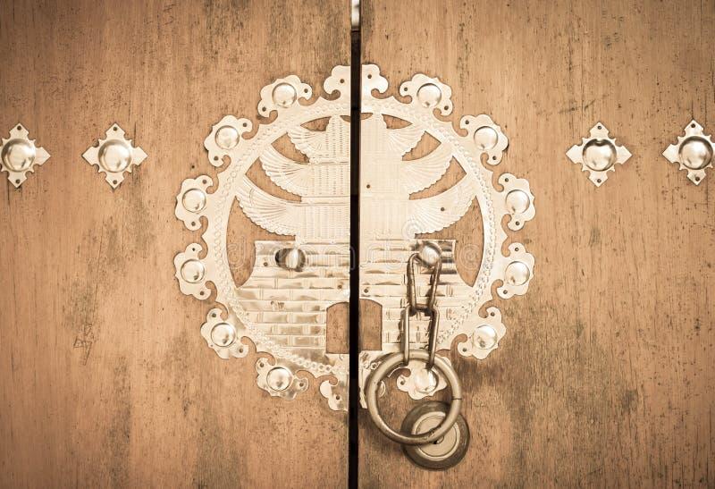 Koreanische Tür stockbilder