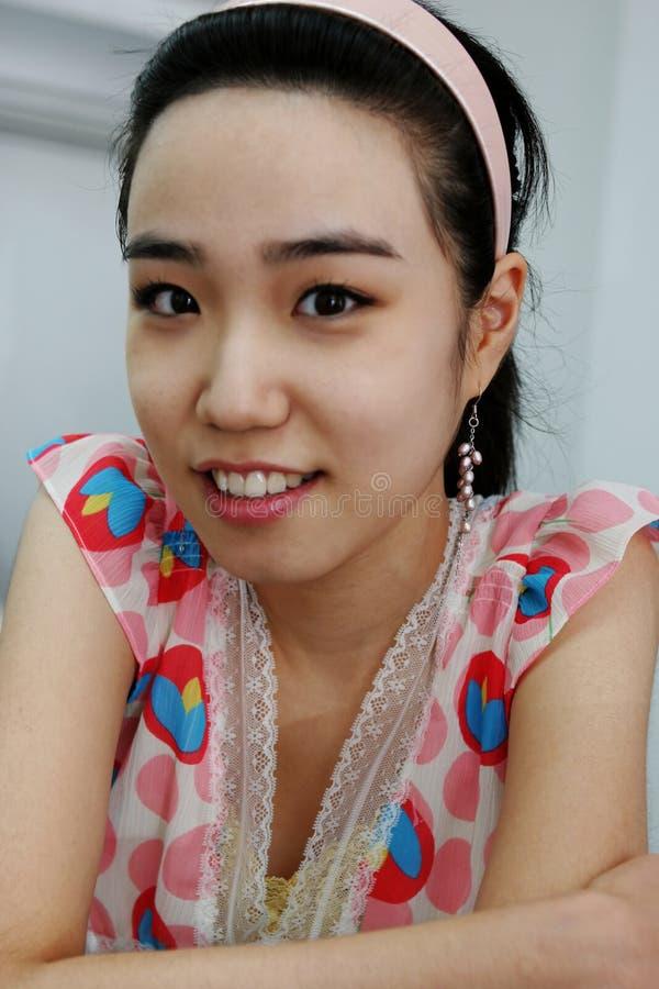 Koreanisches Mädchen lizenzfreies stockbild