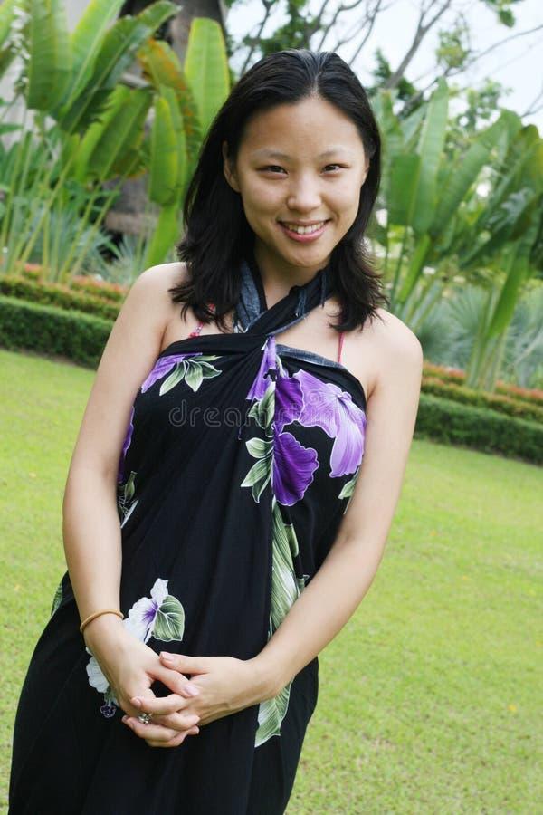 koreansk kvinna royaltyfri foto