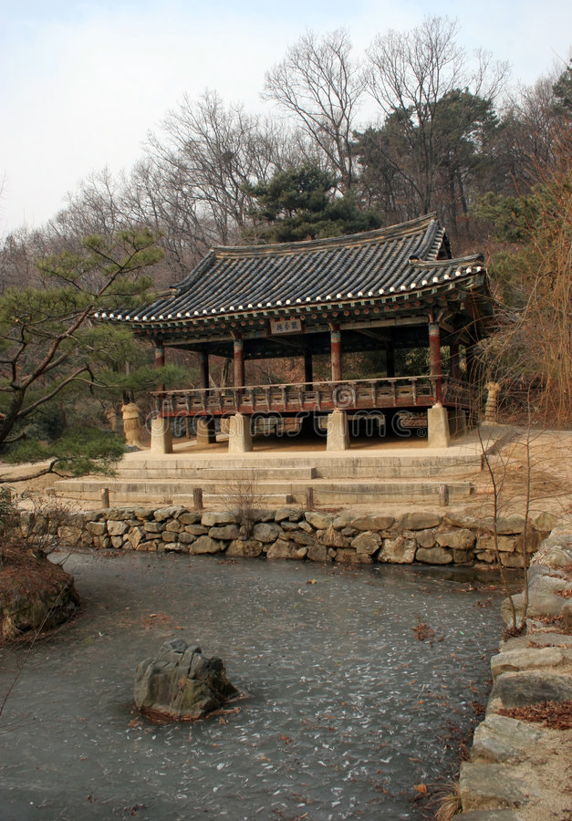 koreansk tradition royaltyfri bild