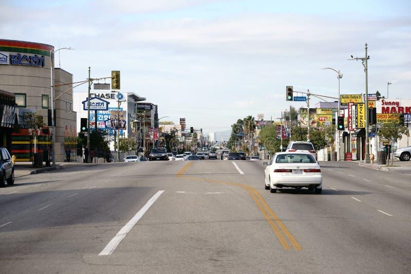 Koreatown Los Angeles image libre de droits