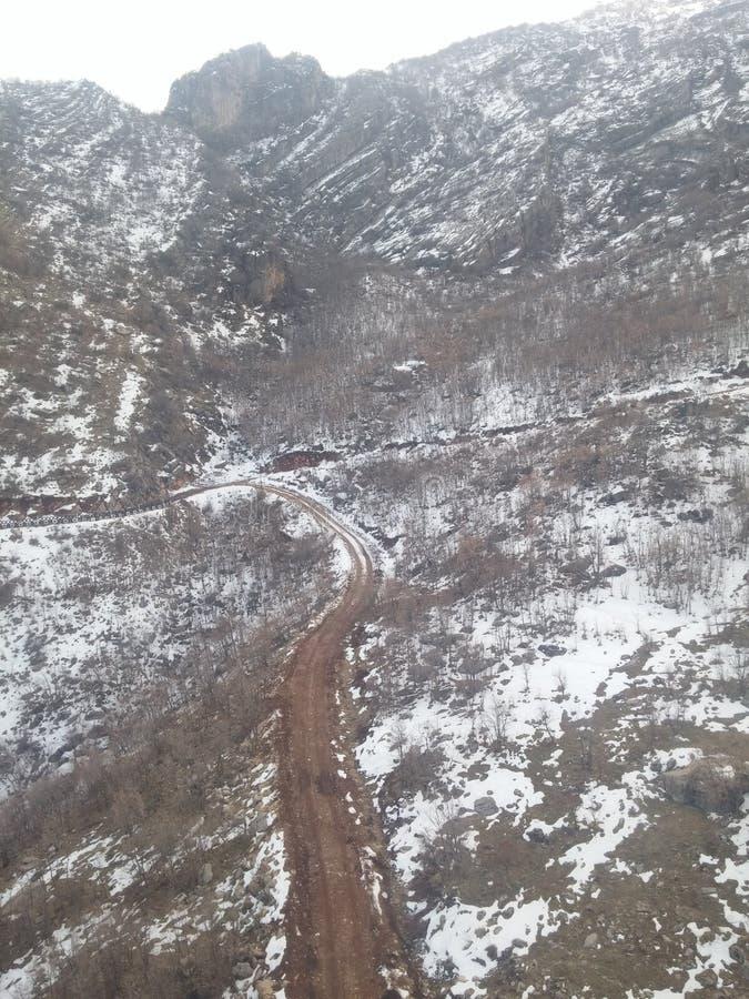 Korek-Berg stockfoto