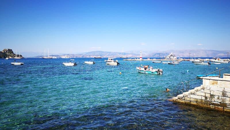 Korfu fotografia stock libera da diritti