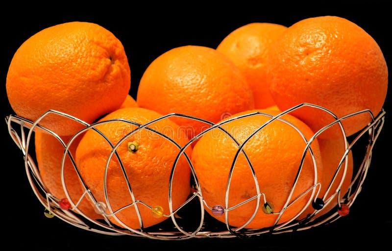 korgapelsiner arkivfoto