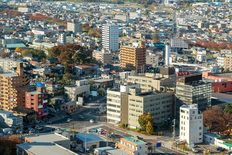 Koriyama Fukushima fotografia stock libera da diritti