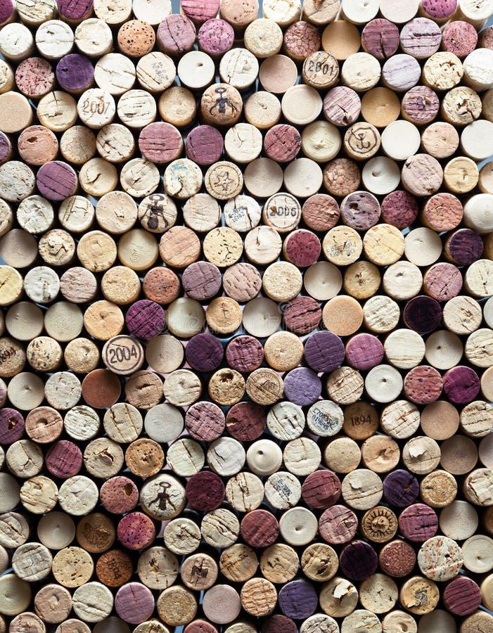 korka wino fotografia stock