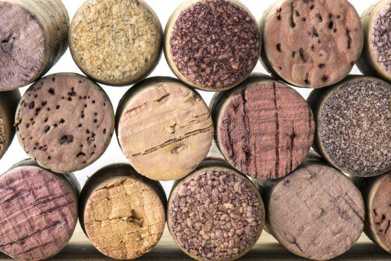 Korkar för vinflaska av Chile 06 royaltyfri foto